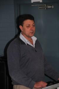 Mr Derrick Hitchins, President of ITEANZ