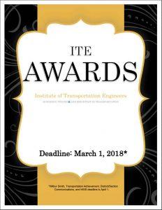 ITE Awards Brochure