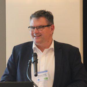 Guest speaker, Duncan Elliott, CEO NELA